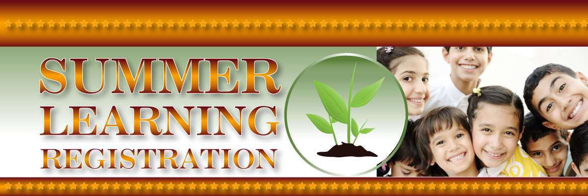 WEB-BANNER -SUMMER LEARNING REGISTRATION